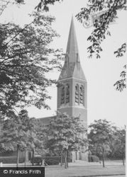 Aldershot, The Church Of St George c.1960