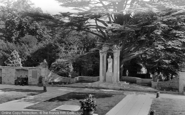 Photo of Aldershot, The Heroes' Shrine, Manor Park c.1960