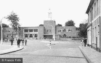 Aldershot, the Naafi c1950