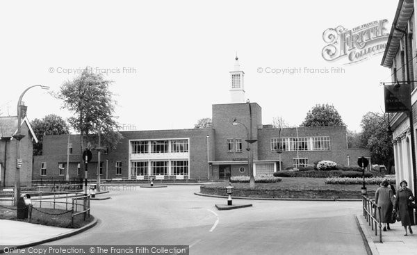 Photo of Aldershot, the Naafi Club c1960