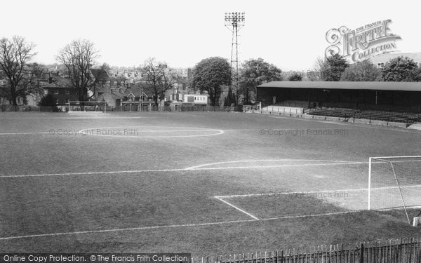 Photo of Aldershot, The Recreation Ground c.1965