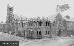 The Soldiers' Home And Methodist Church 1897, Aldershot