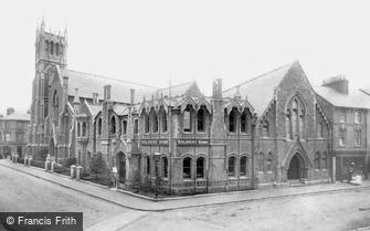 Aldershot, the Soldiers' Home and Methodist Church 1897