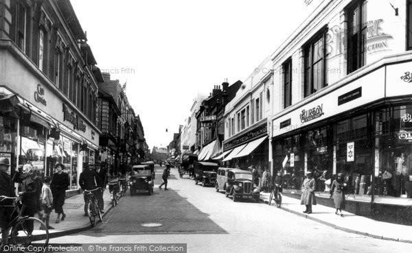Photo of Aldershot, Union Street 1935