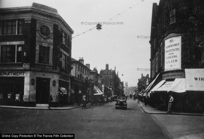 Photo of Aldershot, Union Street 1935