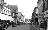 Aldershot, Union Street c.1955