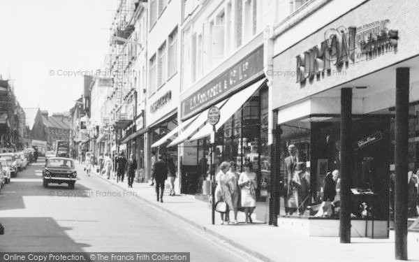 Photo of Aldershot, Union Street, Chain Stores c.1965