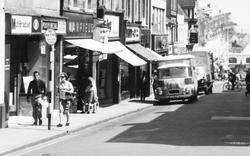 Aldershot, Union Street, Shops c.1965