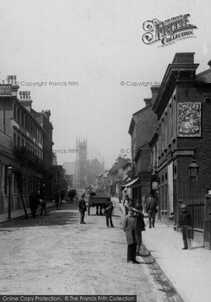 Photo of Aldershot, Victoria Road 1891