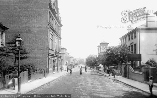 Photo of Aldershot, Victoria Road 1891