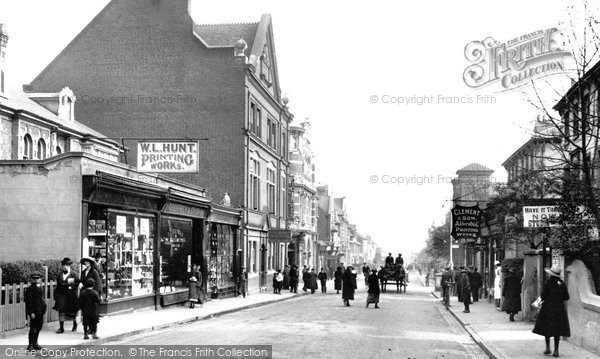 Photo of Aldershot, Victoria Road 1918