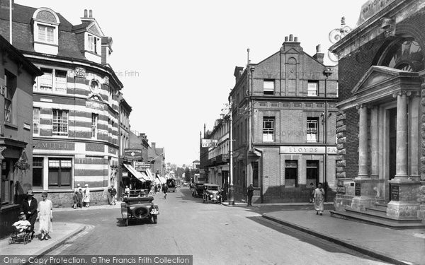 Photo of Aldershot, Victoria Road 1927