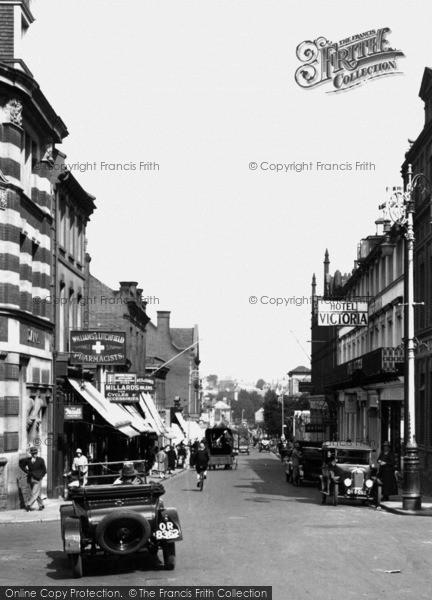 Photo of Aldershot, Victoria Road 1927