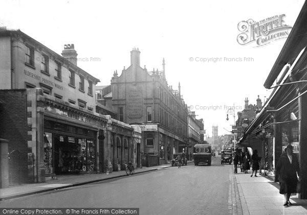 Photo of Aldershot, Victoria Road 1931