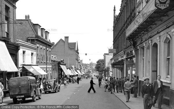 Photo of Aldershot, Victoria Road 1949