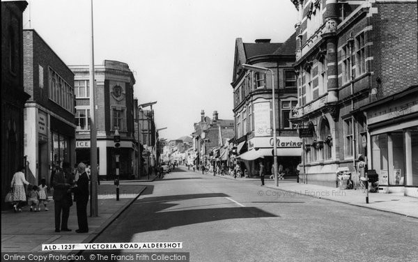 Photo of Aldershot, Victoria Road c.1965