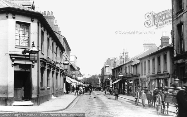 Photo of Aldershot, Wellington Street 1892