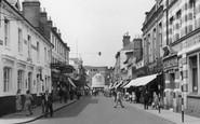 Aldershot, Wellington Street c.1955