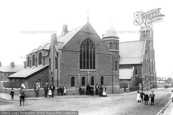Photo of Aldershot, Wesley Hall 1897