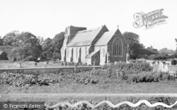 Alderton, The Church c.1955
