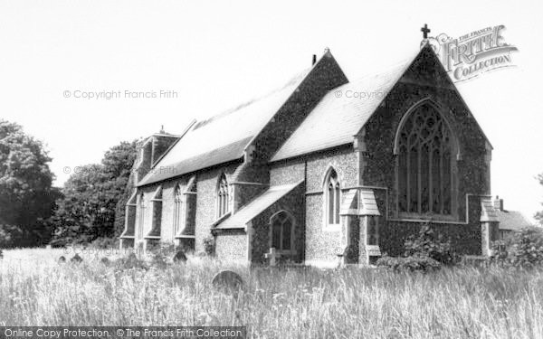 Photo of Alderton, The Church c.1965