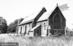 Alderton, The Church c.1965
