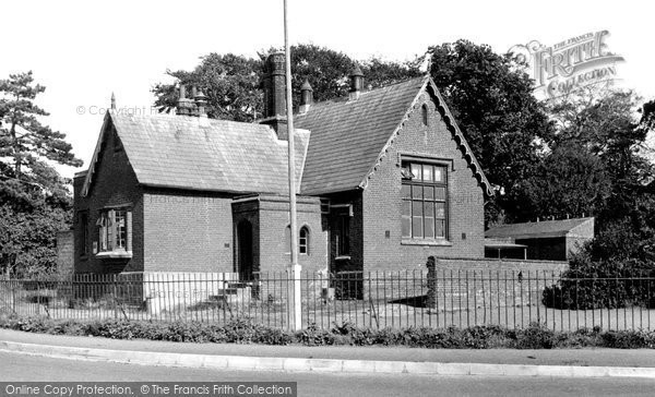 Photo of Alderton, The School c.1950