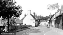 Alderton, The Street c.1950