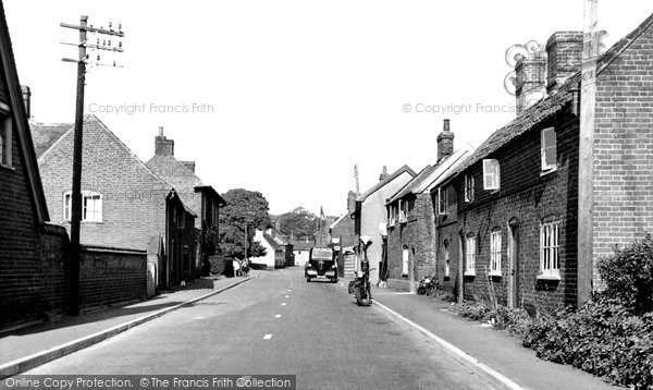 Photo of Alderton, The Street c.1955