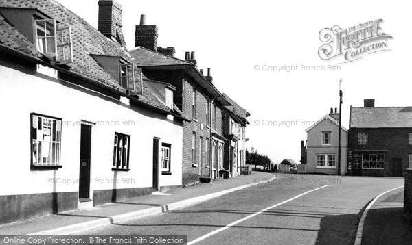 Photo of Alderton, The Street c.1955