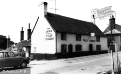 Alderton, The Swan Inn c.1965