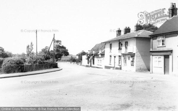 Photo of Alderton, The Village c.1965