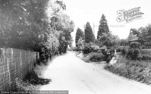 Photo of Alderton, The Village c.1965