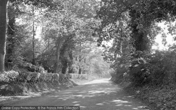 Photo of Alderton, Woodbridge Road c.1955