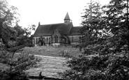 Alderwasley, All Saints Church c.1955
