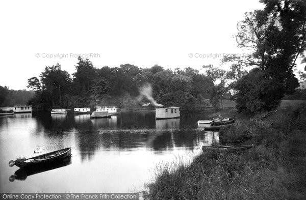 Photo of Aldochlay, The House Boats c.1930