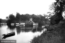 Aldochlay, The House Boats c.1930