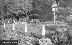 Aldsworth, Entrance To Aldsworth House c.1955