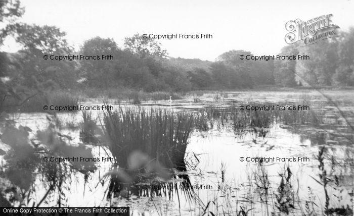 Photo of Aldsworth, The Lake c.1955