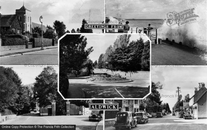 Photo of Aldwick, Composite c.1955