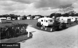 Pinehurst Holiday Caravan Park c.1960, Aldwick