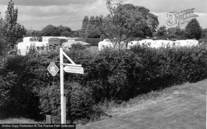 Photo of Aldwick, Pinehurst Holiday Caravan Park c.1960