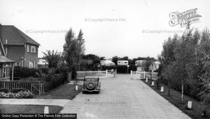 Photo of Aldwick, Pinehurst Holiday Caravan Site c.1955