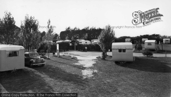 Photo of Aldwick, Pinehurst Holiday Caravan Site c.1955