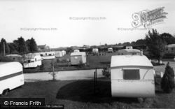 Pinehurst Holiday Caravan Site c.1955, Aldwick