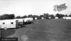 Aldwick, Pinehurst Holiday Caravan Site c.1955