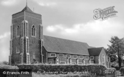 St Richard's Church c.1955, Aldwick