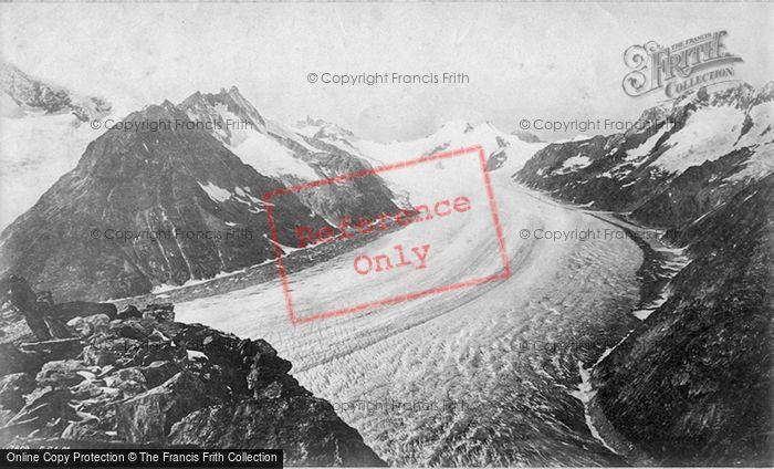 Photo of Aletsch Glacier, c.1875