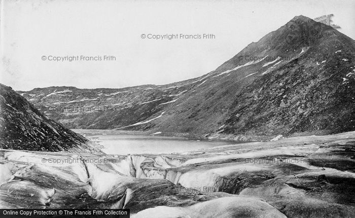 Photo of Aletsch Glacier, Merjeclen And Eggishorn c.1875