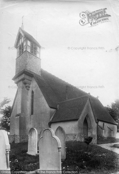 Photo of Alfington, The Church 1906